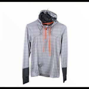 MPG Yoga Athletic Hooded Light Pullover Jacket